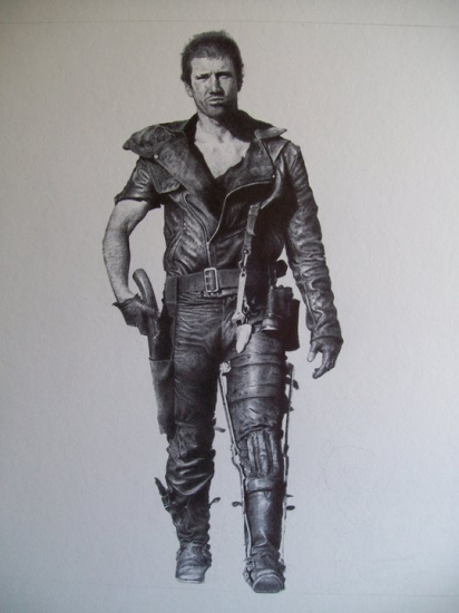 Mel Gibson by Petrol